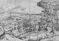 Plaustrum Belgicum, from The Set of Large Landscapes - (after) Pieter The Elder Bruegel