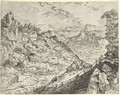 Large Alpine Landscape - (after) Pieter The Elder Bruegel