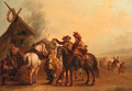 A Hunting Party - (after) Philips Wouwerman