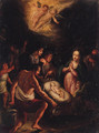 The Adoration of the Shepherds - (after) Frans II Francken