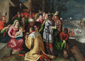 The Adoration of the Magi - (after) Frans II Francken