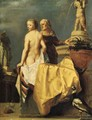 Bathseba receiving David's letter - (after) Francois Verwilt