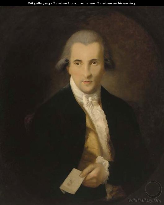Portrait of a gentleman - (after) Dupont Gainsborough