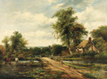 The crossing bridge - (after) Frederick William Watts