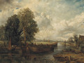 View on the Stour near Dedham - (after) Frederick Waters Watts