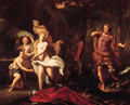 Diana and her nymphs surprised by Actaeon - (after) Gerard Hoet