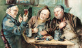 In the tavern - (after) Eduard Von Grutzner