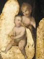 The Madonna and Child with the Infant Saint John the Baptist - (after) Domenico Puligo