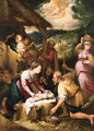 The Adoration of the Shepherds - (after) Denys Calvaert