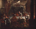 Belshazzar's Feast - (after) Francesco Monti