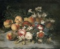 Roses, orange blossom and peaches - (after) Francesca Vicenzina