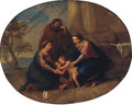 The Holy Family with Saint Elizabeth and the infant Saint John the Baptist - (after) Mengs, Anton Raphael