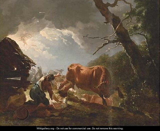 The Annunciation to the Shepherds - (after) Horace Vernet