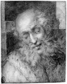 The head of a bearded old man - (after) Camillo Procaccini