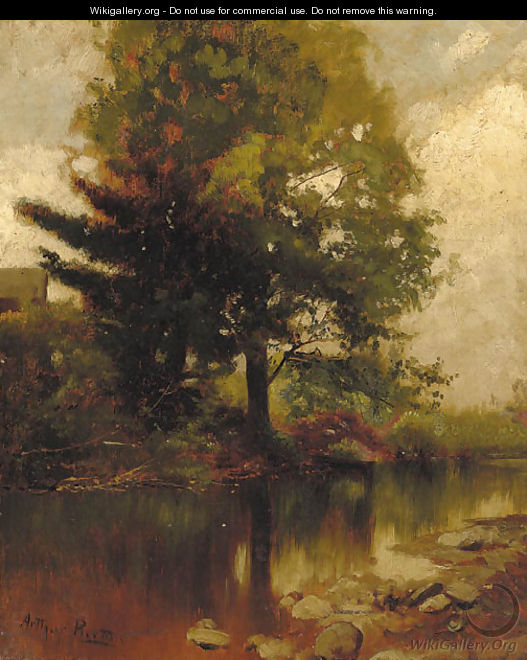 Wooded Landscape - Arthur Parton