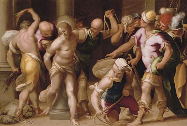 The Flagellation - (after) Acopo D