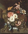 Carnations - (after) Jan Weenix