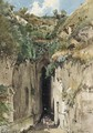 The caves at Posillipo - Ascan Lutteroth