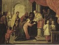 The Presentation of Christ in the Temple - (after) Abraham Willemsens