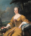 Portrait of the Duchess of Luxembourg - (after) Alexis-Simon Belle