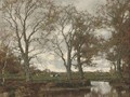 The Vordense Beek in Autumn - Arnold Marc Gorter