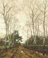Birches in autumn - Arnold Marc Gorter