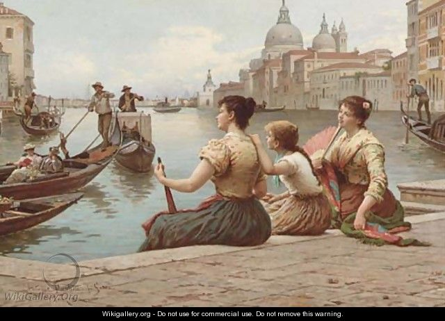 Waiting for the Gondola - Antonio Paoletti