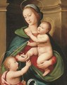 The Madonna and Child with the Infant Saint John the Baptist 2 - Antonio del Ceraiolo
