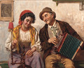 Spinning to the tune of the accordian - Antonio Zoppi