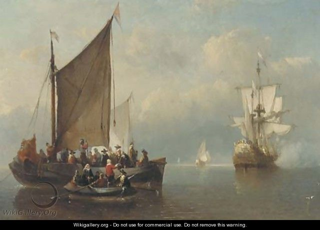 A salute at sea - Antonie Waldorp