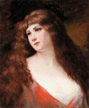 An auburn haired beauty - Angelo Asti