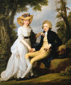 Portrait of Robert Stearne Tighe (1760-1835) of Mitchellstown, co. Westmeath, Ireland, and his wife Catherine - Angelica Kauffmann