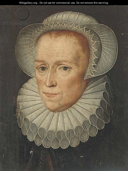 Portrait of a lady - Anglo-Dutch School