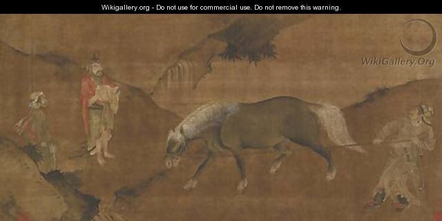 Taming a Horse - Anonymous Artist