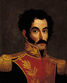Retrato de Simon Bolivar - Anonymous Artist