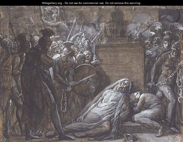 The death of Hannibal - Anne-Louis Girodet de Roucy-Triosson