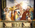 Lorenzo de Medici and Apollo welcome the muses and virtues to Florence - Bravo Cecco (Francesco Montelatici)