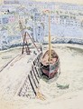The Sans Pareil in Brixham Harbour - Dora Carrington