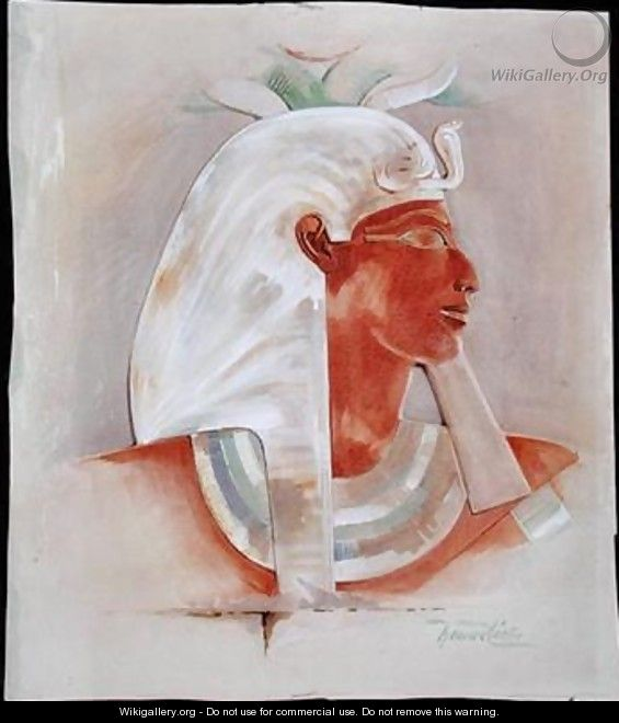 Head of Queen Makare Hatshepsut - Howard Carter