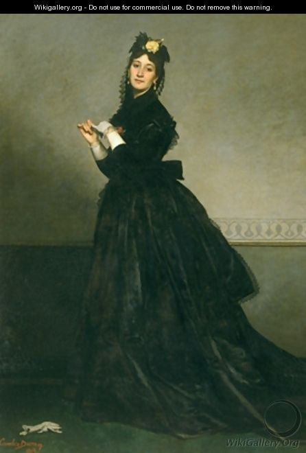 The Woman with the Glove - Charles Emile Auguste Carolus-Duran