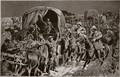 Night attack on a Boer convoy by mounted infantry under Colonel Williams - John Charlton