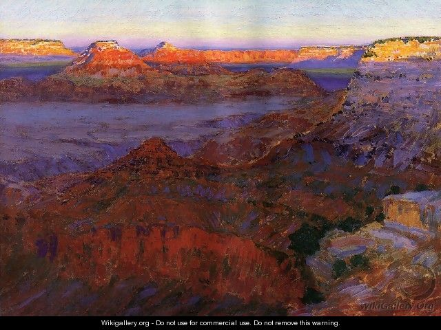 The Grand Canyon 1911 1912 - Arthur Wesley Dow