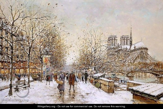 Winter in Paris Notre Dame - Agost Benkhard