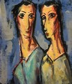 Two Heads 1928-1929 - Alfred Henry Maurer