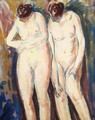 Two Figures 1927-1928 1 - Alfred Henry Maurer