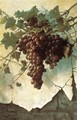 Grapes against a Mission Wall - Edwin Deakin