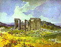 Temple of Apollo in Phigalia 1835 - Julia Vajda
