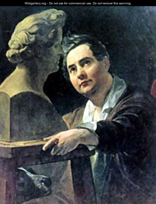 Portrait of Sculptor I P Vitaly 1836 1837 - Julia Vajda