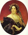 Portrait of Princess Z A Volkonskaya 1842 - Julia Vajda