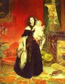 Portrait of M A Beck and Her Daughter M I Beck 1840 - Julia Vajda